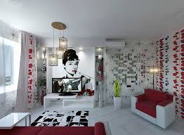 Red And Black Living Room Decorating Ideas by Apartment Design For Young Man U0026 Woman