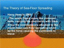 Evidence For Seafloor Spreading Comes From by Earth Science Plate Tectonics Ppt
