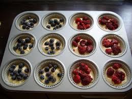 himbeer heidelbeer muffins