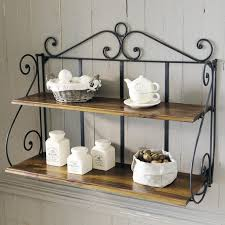 Appealing Wrought Iron Bathroom Shelf With 70 Best Wall And Standing Shelving Images On Pinterest Home