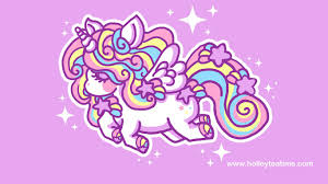 Cute Unicorn Rainbow Wallpaper Wallpapers