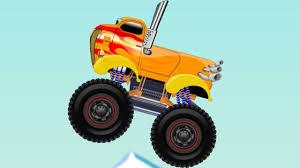 Monster Truck Stunts | Video For Kids | Cartoons Video For Children ...