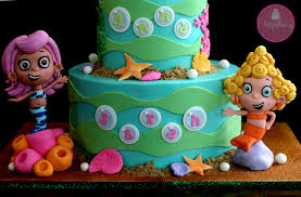 Bubble Guppies Cake Decorations by Bubble Guppies Tutorial U0026 The Triplets Mcgreevy Cakes