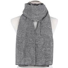 black silver scarf promotion shop for promotional black silver