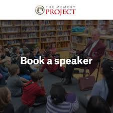 canadian speakers bureau book a speaker the memory project