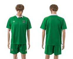 2015 ireland home green soccer jersey cheap wholesale size s m l xl