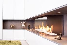 einbauschrank mit gaskamin modern wohnbereich köln