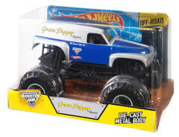 Hot Wheels® Monster Jam Grave Digger® - The Legend - Shop Hot ... Hot Wheels Monster Jam Grave Digger Vintage And More Youtube Giant Truck Diecast Vehicles Green Toy Pictures Monster Trucks Samson Meet Paw Patrol A Review New Bright Rc Ff 128volt 18 Chrome For Kids The Legend Shop Silver Grimvum Diecast 164 Project Kits At Lowescom Redcat Racing 15 Rampage Mt V3 Gas Rtr Flm