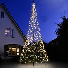 Outdoor 20m 480 LED Christmas Cool White Rope Light Display