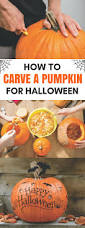 Preserving A Carved Pumpkin by How To Carve A Pumpkin For Halloween