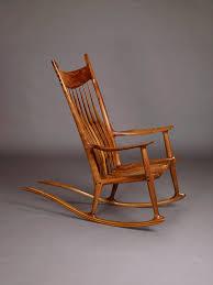 Sam Maloof Rocking Chair, Wonderfully Crafted Rocking Chair ...
