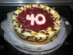 backen cassis mousse torte