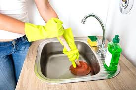 Home Remedy To Unclog A Clogged Sink by How To Unclog A Kitchen Sink Drain With Baking Soda And Vinegar