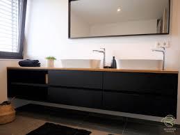 waschbeckenunterschrank schwarz holzdesign rapp geisingen
