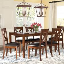 Seats 6 Kitchen & Dining Room Sets You'll Love In 2019   Wayfair Dorel Living Andover Faux Marble Counter Height 5 Pc Ding Set Denmark Side Chair Designmaster Fniture Ava Sectional Cashew Hyde Park Valencia Rectangular Extending Table Of 4 Button Back Chairs Room Big Sandy Superstore Oh Ky Wv Hampton Bay Oak Heights Motion Metal Outdoor Patio With Cushions 2pack Sofa Usb Charging Ports Intercon Nantucket Transitional 7 Piece A La Carte And Liberty