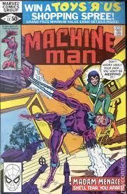 Machine Man 1978 1st Series 17
