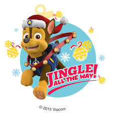 PAW Patrol Holiday Stickers Stickers from SmileMakers