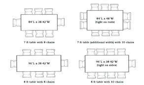 Inspiring Dining Room Dimensions Gallery Best