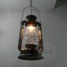 Fashion Pendant Light Brief Vintage Lantern American Style Living Room Lights Balcony Bedroom Lamps Rustic Big Oil Lamp In From