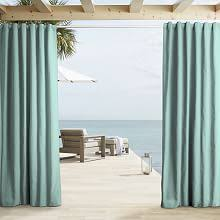 Pottery Barn Outdoor Curtains by Outdoor Curtains West Elm