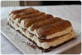 dessert aux pommes sans cuisson buche tiramisu sans cuisson et sans oeuf