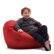100 Best Bean Bag Chairs For Bad Backs Amazoncom Big Joe 98Inch Flaming Red Kitchen Dining