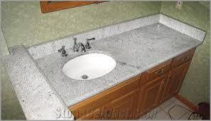 kashmir white granite bathroom countertops from china