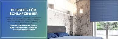 schlafzimmer plissees perfekte verdunkelung für fenster