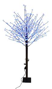 Christmas Tree 7ft Pre Lit by Upright Cherry Blossom Christmas Tree 7ft 8ft Pre Lit Blue Flower