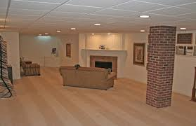 Inexpensive Basement Ceiling Ideas by Ideas For Finishing Basement On A Budget Basement Finished Ideas