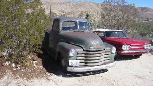 1952 Chevrolet Threequarter-ton 3600 Step Side Pickup Truck 3 Window ...