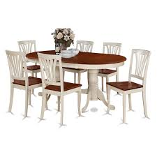 Shop PLAV7-WHI-W Rubberwood 7-piece Dining Room Set - Free Shipping ... Vintage Kitchen Table And Chairs Set House Architecture Design Shop Greyson Living Malone 70inch Marble Top Ding Westlake Transitional Cherry Wood Pvc Leg W6 The 85ft W 6 Forgotten Fniture Homesullivan 5piece Antique White And 401393w48 Plav7whiw Rubberwood 7piece Room Free Shipping Cerille Rustic Brown Of 2 By Foa Amazoncom America Bernette Round East West Niwe6bchw Pc Table Set With A