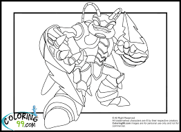 Skylanders Giant Tree Rex Letter Practice And Coloring Page