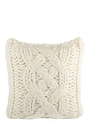 Macys Sofa Pillow Covers by Ugg Australia Oversized Natural White Wool Blend Knit Pillow