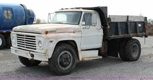100 Unique Trucks Ford Dump 1972 Ford 600 Dump Truck Item J2269