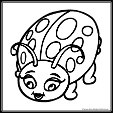 More Images Of Ladybug Coloring Sheet