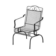 Gymax Metal Rocking Chair Porch Seat Deck Patio Outdoor Sleeper ... 1960s Rocking Chair In Red Plastic Strings On Black Metal Frame Wicker Grey At Home Details About Lawn Rocker Patio Fniture Garden Front Porch Outdoor Fleur Chairs Coffee Table Mesh Rare Salterini Radar Wrought Iron Scrollwork Design Decorative Deck Monceau Chair For Outdoor Living Space Staton Amazonin Kitchen Amazoncom Mygift Dark Brown Woven Metal Patio Rocking Chairs Carinsuncerateszipco Hampton Bay Wood