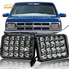 100 Chevy Truck Parts Catalog Free 2 4x6 45W LED Headlights For Chevrolet Camaro S10 C10 Blazer New