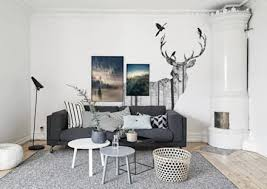 Scandinavian style living rooms
