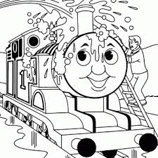 Thomas And Friends Printable Coloring Pages The Train