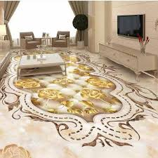 3D Epoxy Floor For Living Room