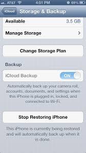 icloud iPhone 5 stuck on