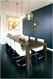 Blue Tufted Dining Chair Room Set Navy