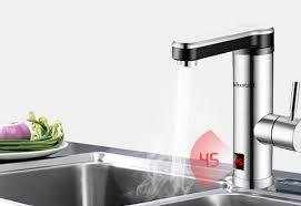 Elektrischer Wasserhahn Durchlauferhitzer Armatur Mischbatterie Elektrischer Wasserhahn Mit Integriertem Durchlauferhitzer