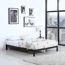amazon com modern 8 low metal platform bed frame mattress