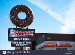 Dunkin Donuts Pumpkin Muffin Release Date by Donut Shop Stock Photos U0026 Donut Shop Stock Images Alamy