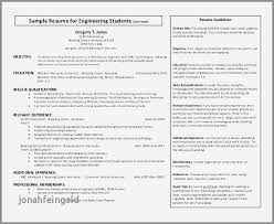Resume Samples For Mechanical Engineer Fresher Beautiful 21 Engineering Templates