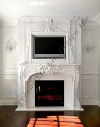 Marble Mantel Design  limestone fireplace mantel design for