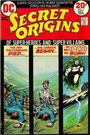 DC Comics Secret Origins November December Cover By Nick Cardy