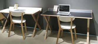 bureau 130 cm bureau bois design tilt